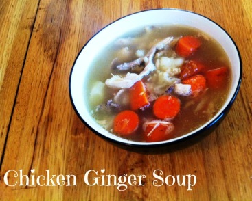 Chicken Ginger Soup